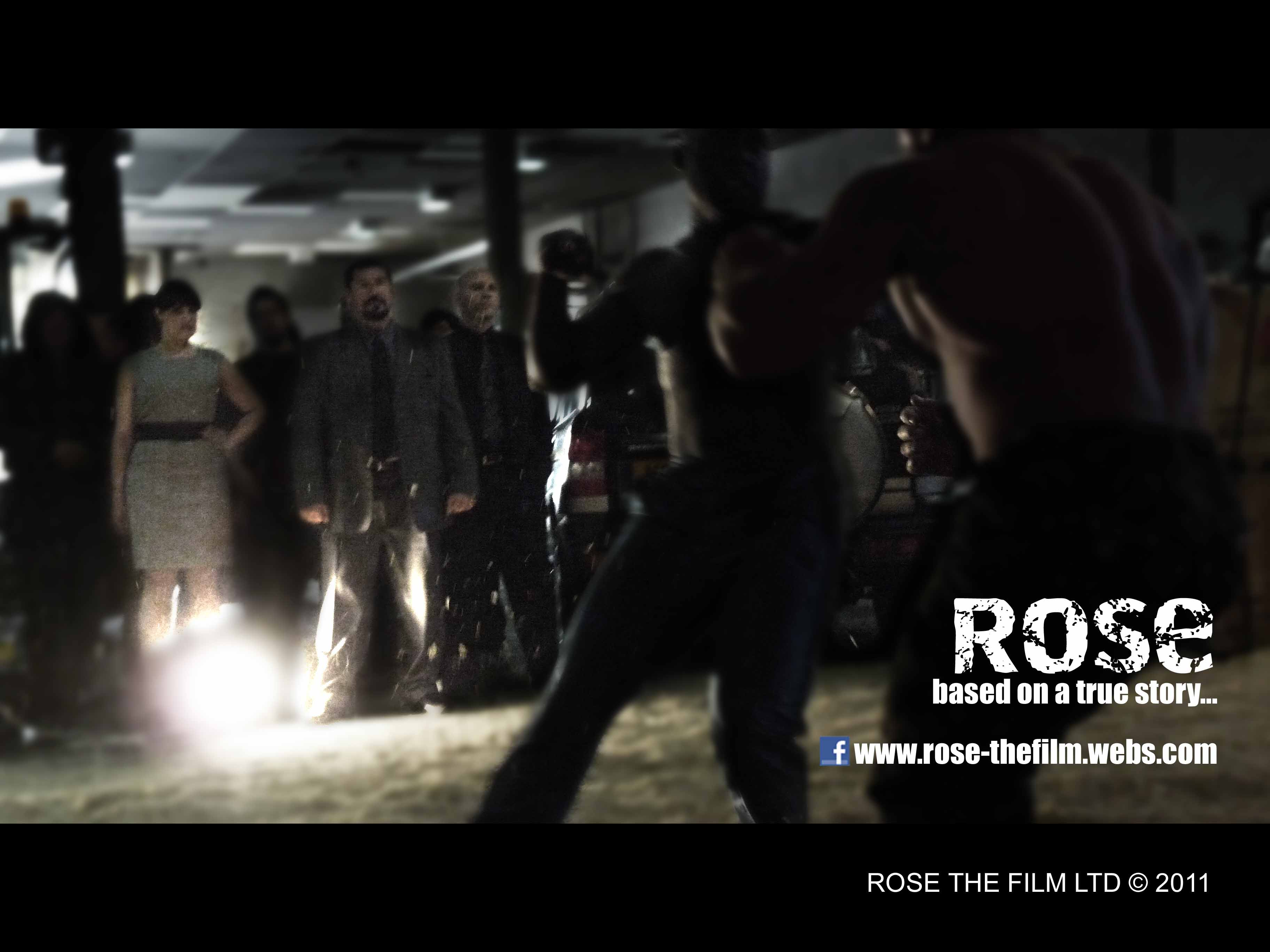 Film stills from the motion picture 'Rose'.