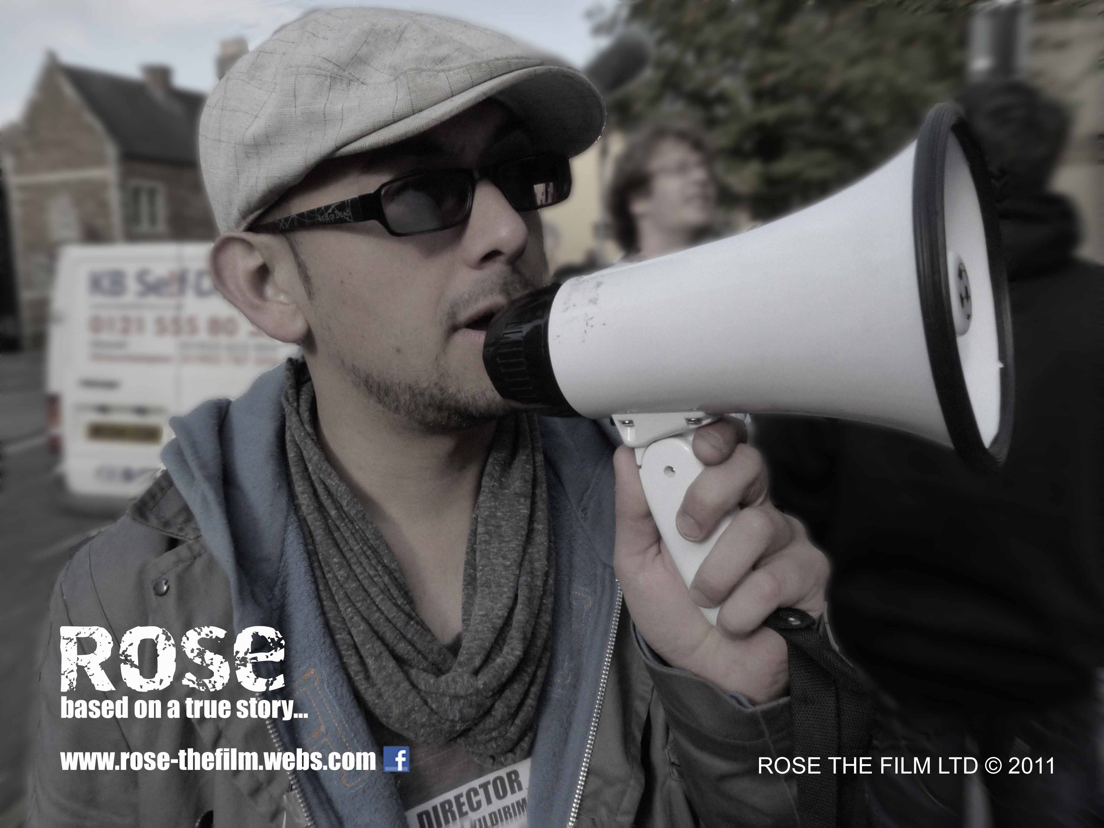 Production Stills on Set of Rose the Film.